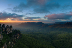 Morning from Blue mountains, Australia